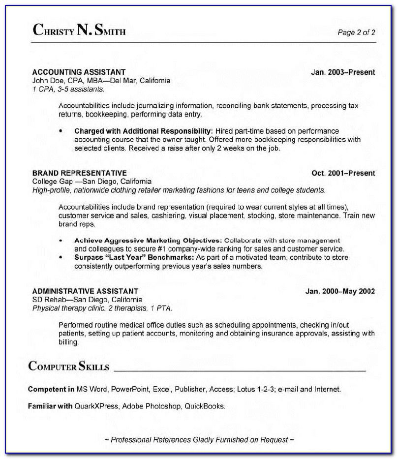 Free Resume Templates For Medical Billing And Coding