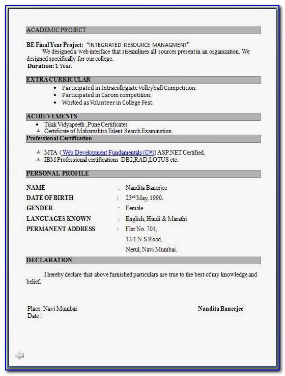 Download Resume Format Write The Best Resume Resume Format Pdf Download Free Resume Format Pdf Download Free
