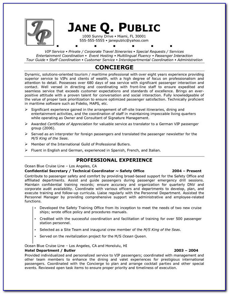Guide Resume Cover Letter