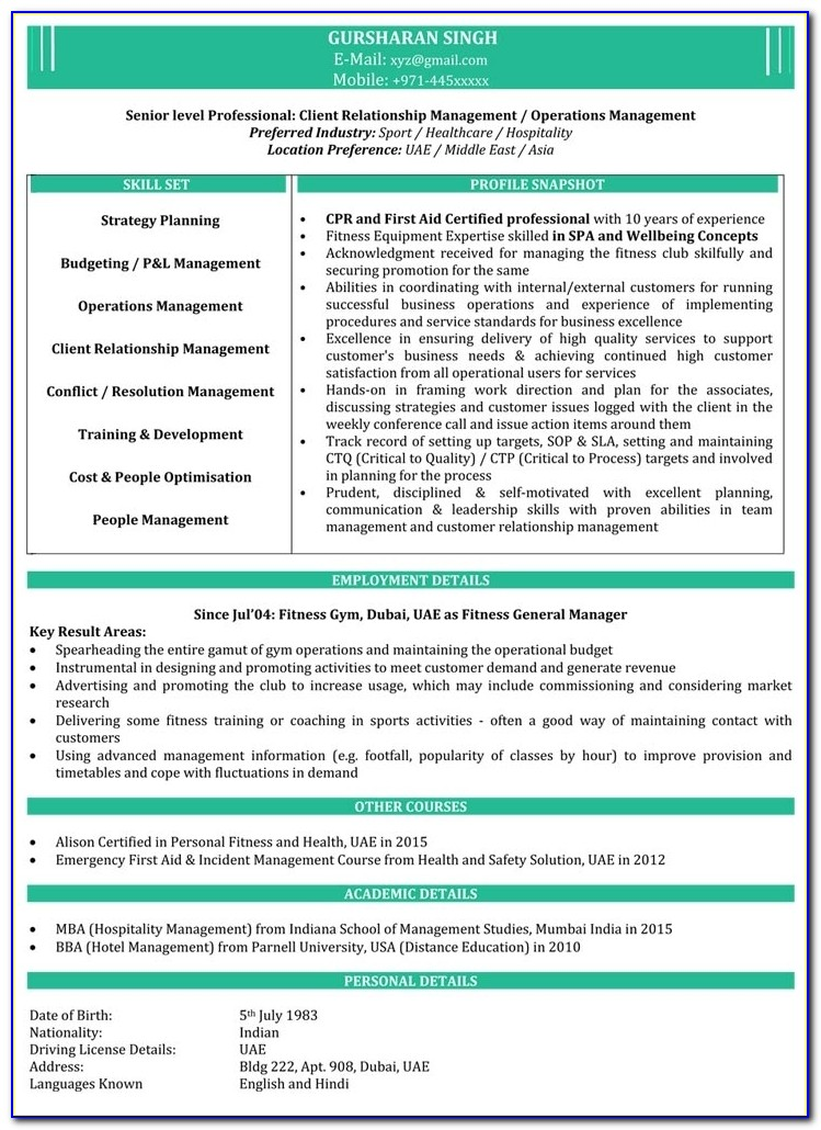 Mba Resume Samples | Sample Resume For Mba | Mba Fresher Resume In Mba Resume Sample