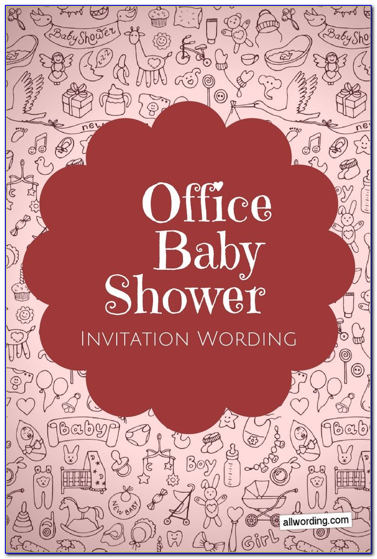 Microsoft Office Baby Shower Invitation Template