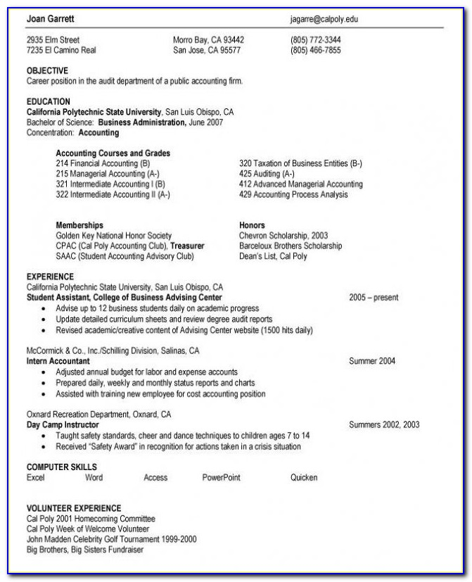 High School Resume Examples | Resume Examples & Free Resume Builder With High School Student Resume Objective Examples