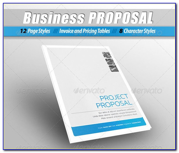 Proposal Template Indesign Free