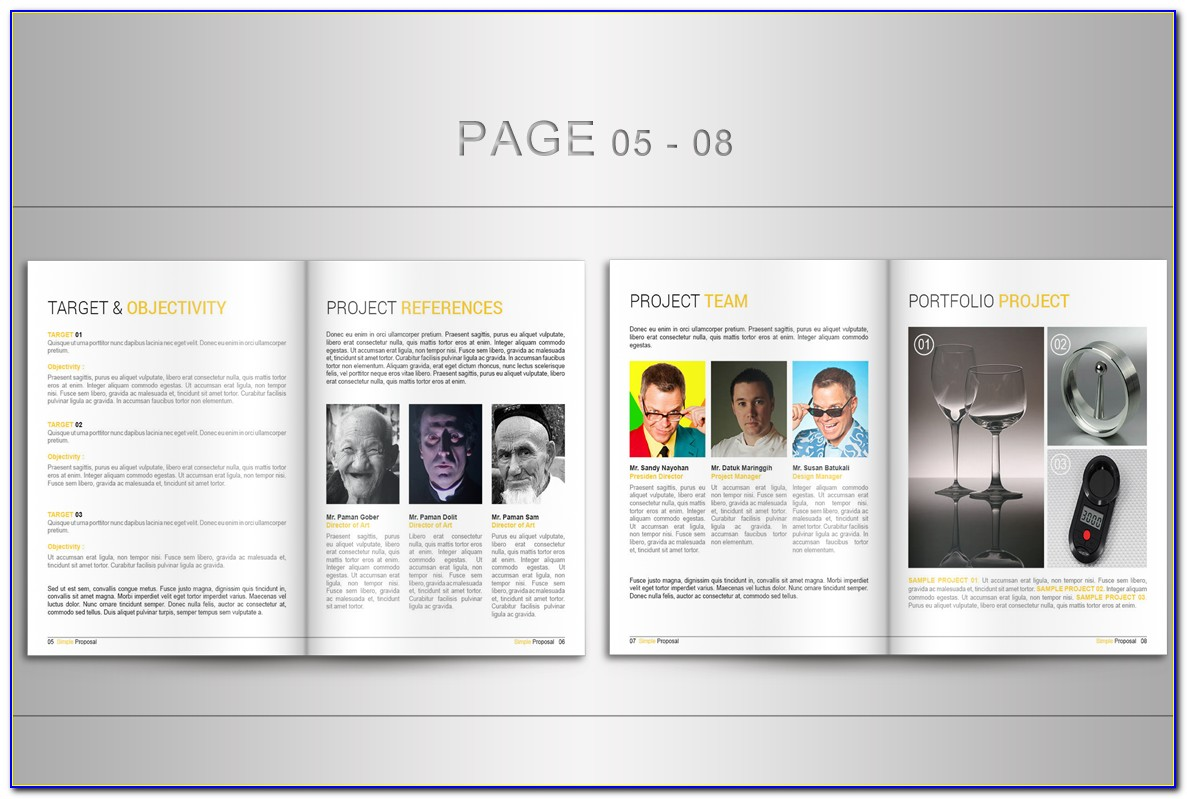 Proposal Templates Indesign