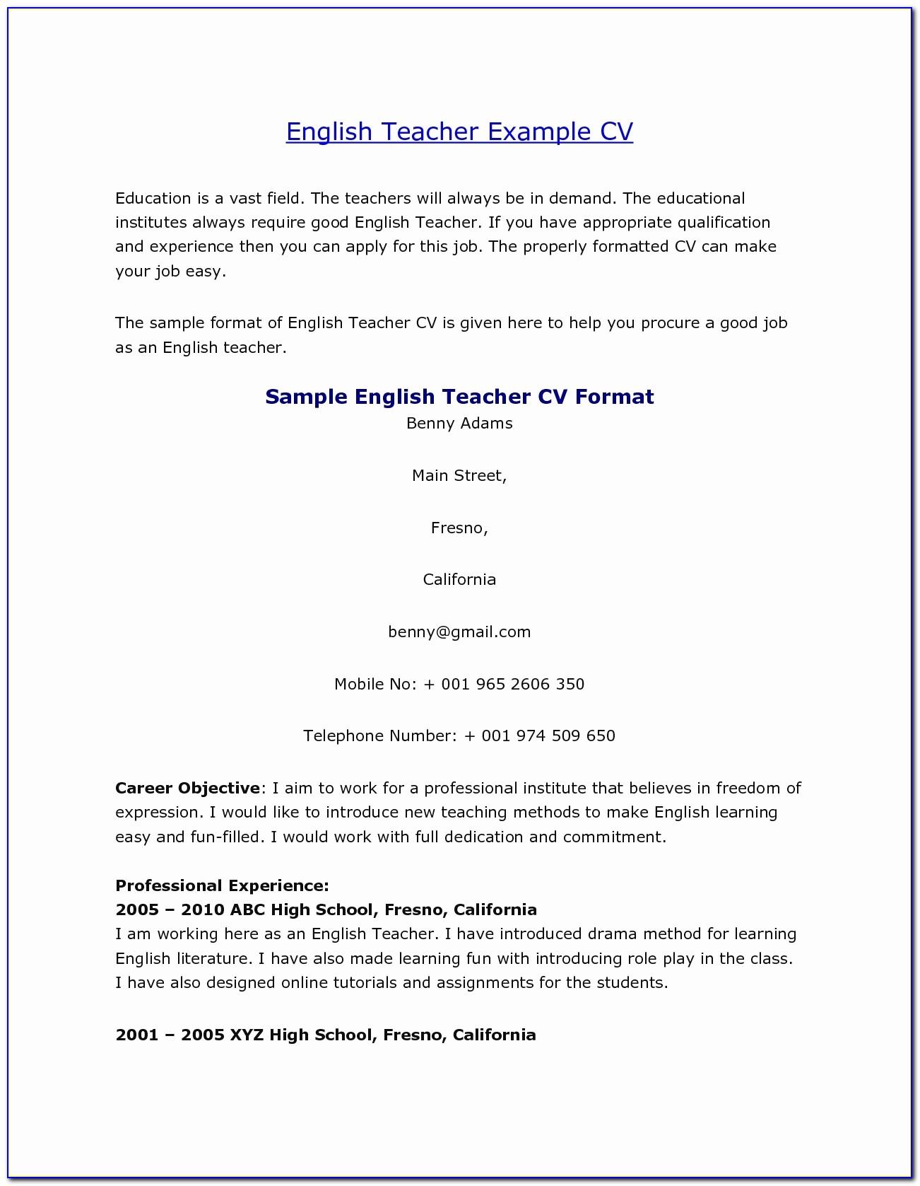 Good Resume Format For Teachers Lovely 45 Elegant S Teacher Resume Template Word Resume Designs