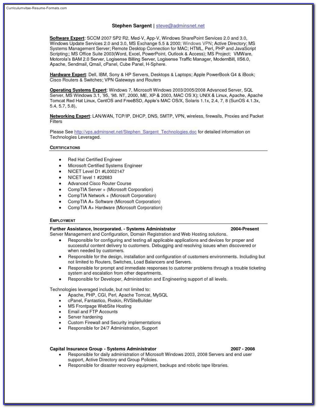 Download Free Resume Templates For Mac