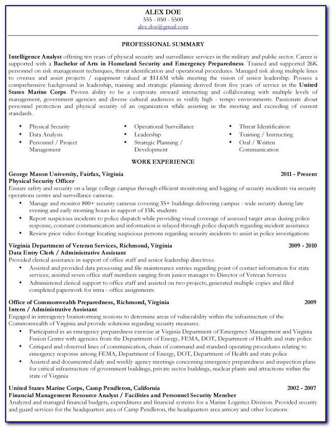 Military Veteran Resume Examples Veteran Resume Builder Veteran Resume Builder