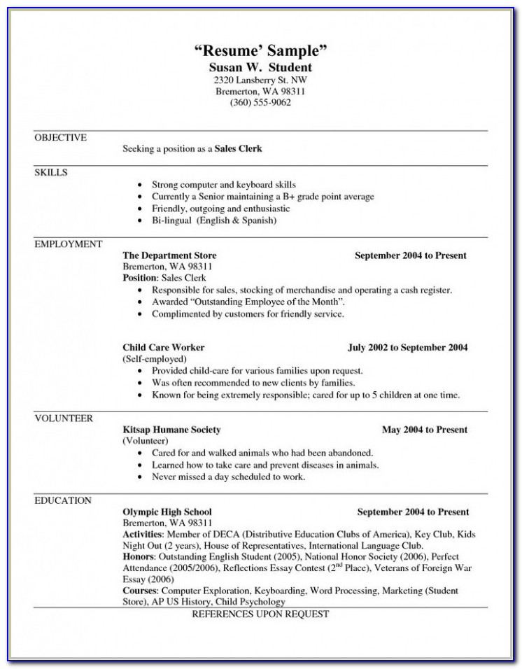 Download Free Printable Resume Builder Templates Resume Resume