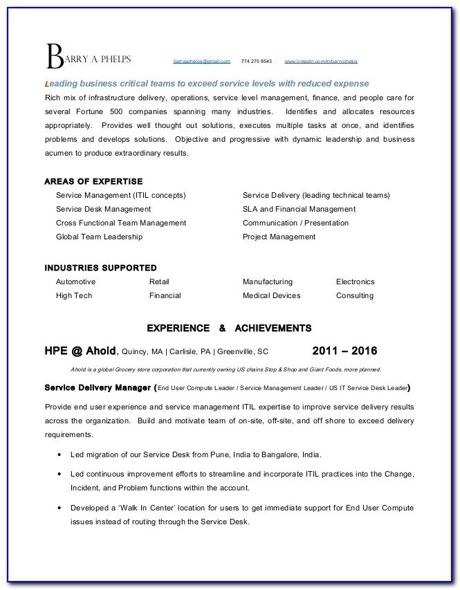 Resume Company Greenville Sc