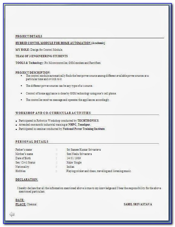Fresher Engineer Resume Format Free Download Resume Format Pdf Download Free Resume Format Pdf Download Free