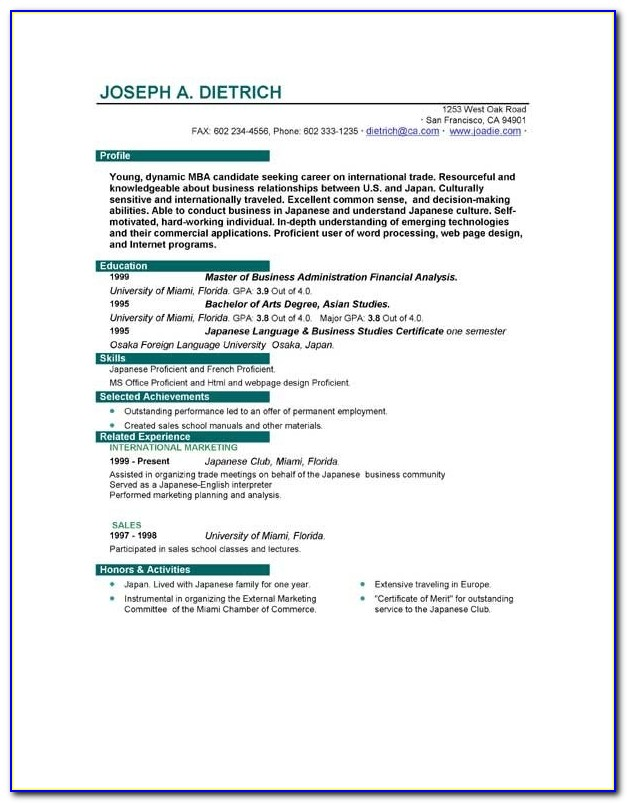 Best Resume Examples For Your Job Search Livecareer Example Of Job Resume Template