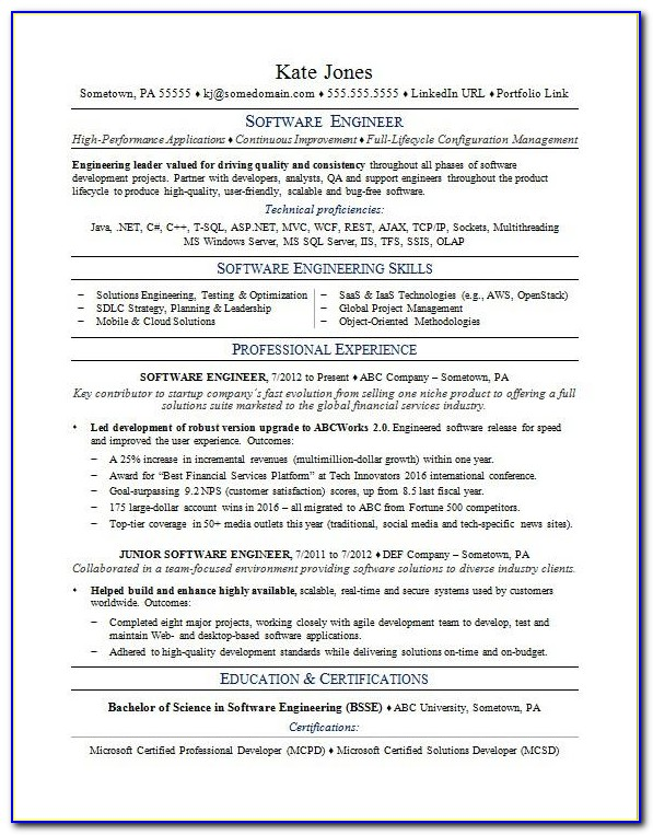 Resume Template Software Download