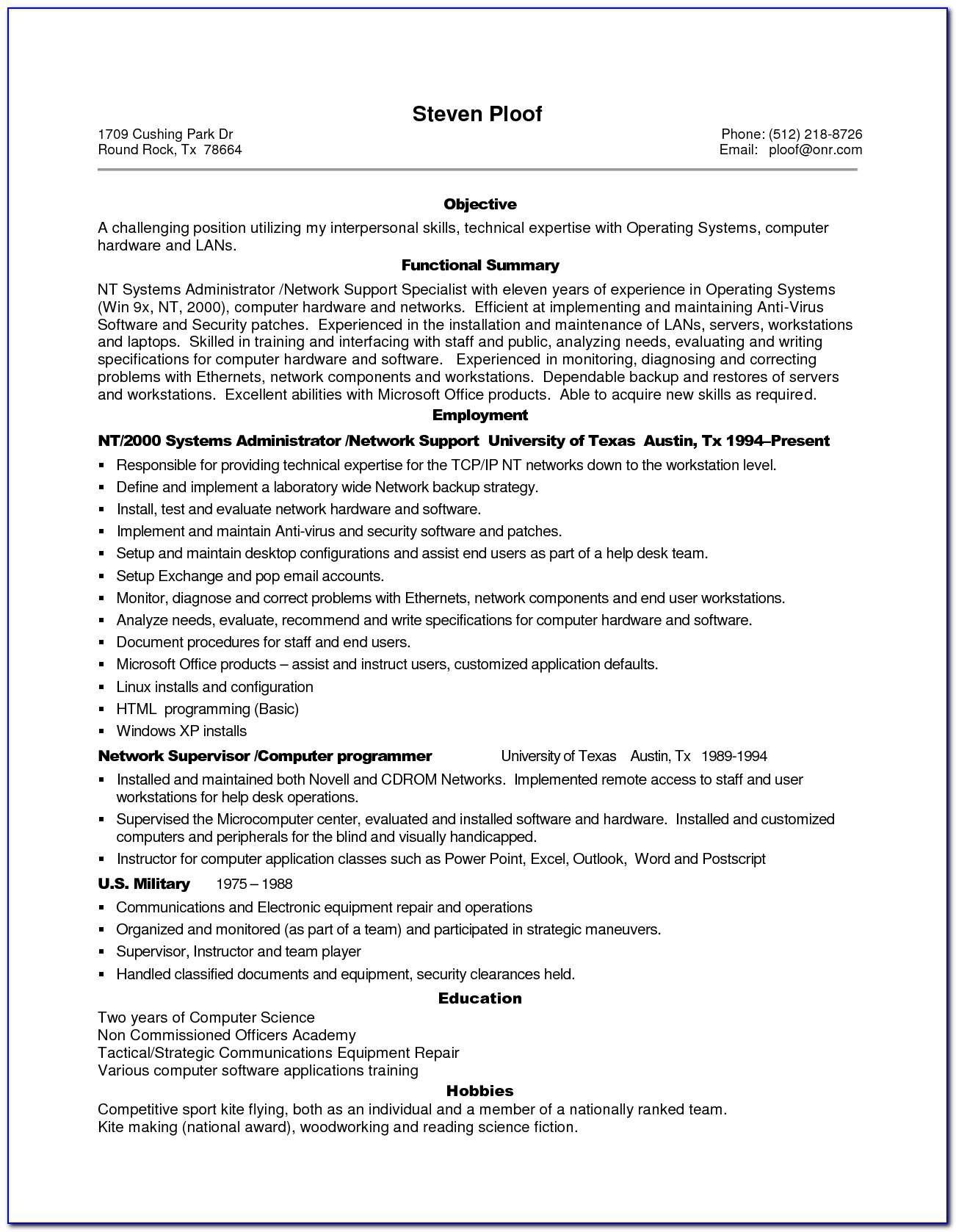 Resume Examples Professional Experience Examples For Resume Regarding Example Of Professional Resume