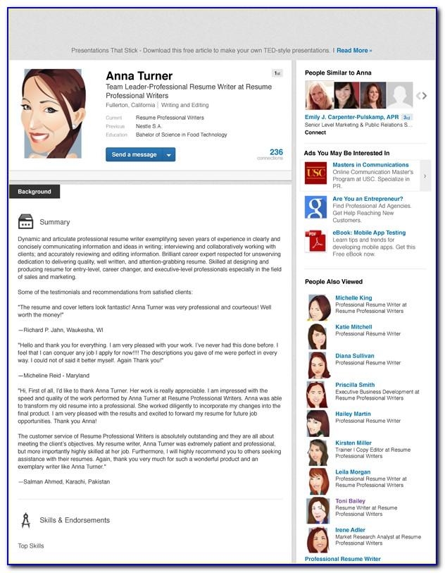 Resume Writing & Linkedin Seo Get Recruiters To Pursue You