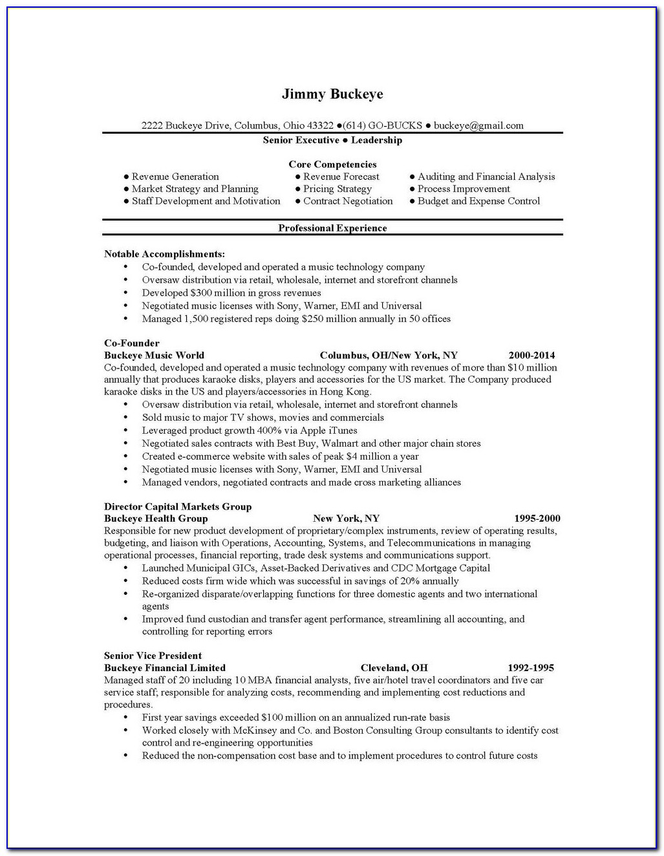 Resume Writing Services Columbus Ohio