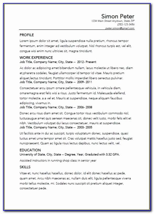 Best Resume Builder Unique Simple Resume Maker Best Resume Creator For Best Resume Builder App