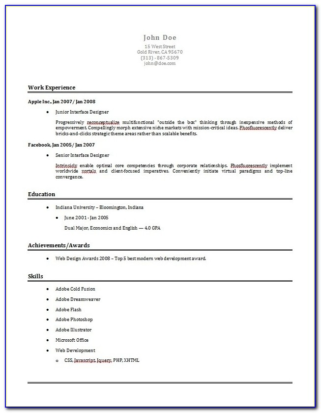 Resume Builder Template Download Free Resume Samples Writing Throughout Simple Resume Builder 2017