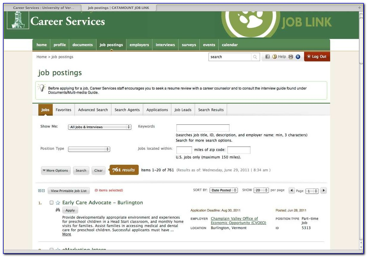 Career Email Job Posting Resume Search Service Site Post Resume On Job Sites