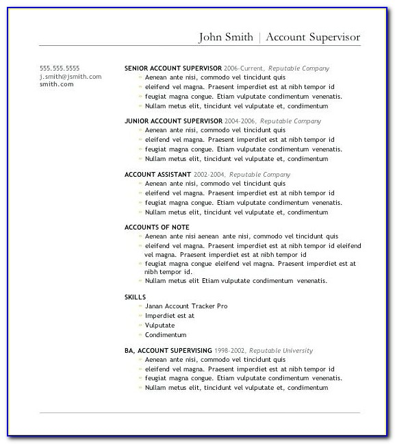 Top Rated Proper Resume Template Free Resume Template Word Best With Proper Resume Template