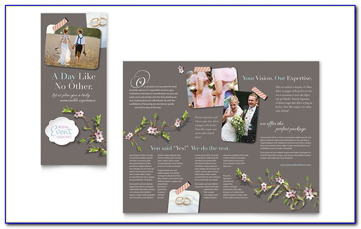 Wedding Flyer Template Psd Free