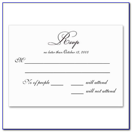 Doc.#: Rsvp Card Template Word – Wedding Invitation Rsvp Card Throughout Free Printable Rsvp Cards