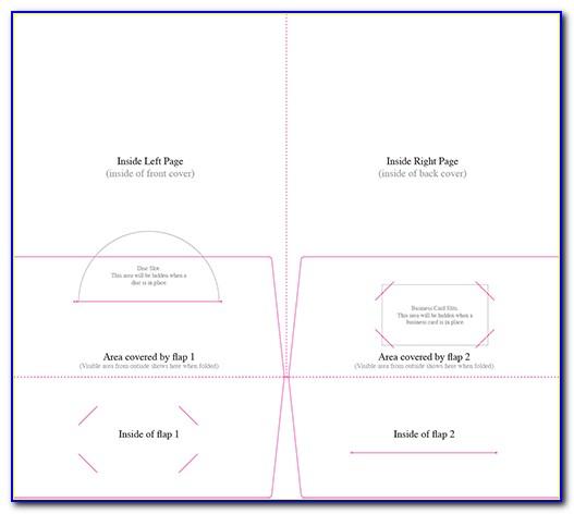 9x12 Presentation Folder Template Indesign