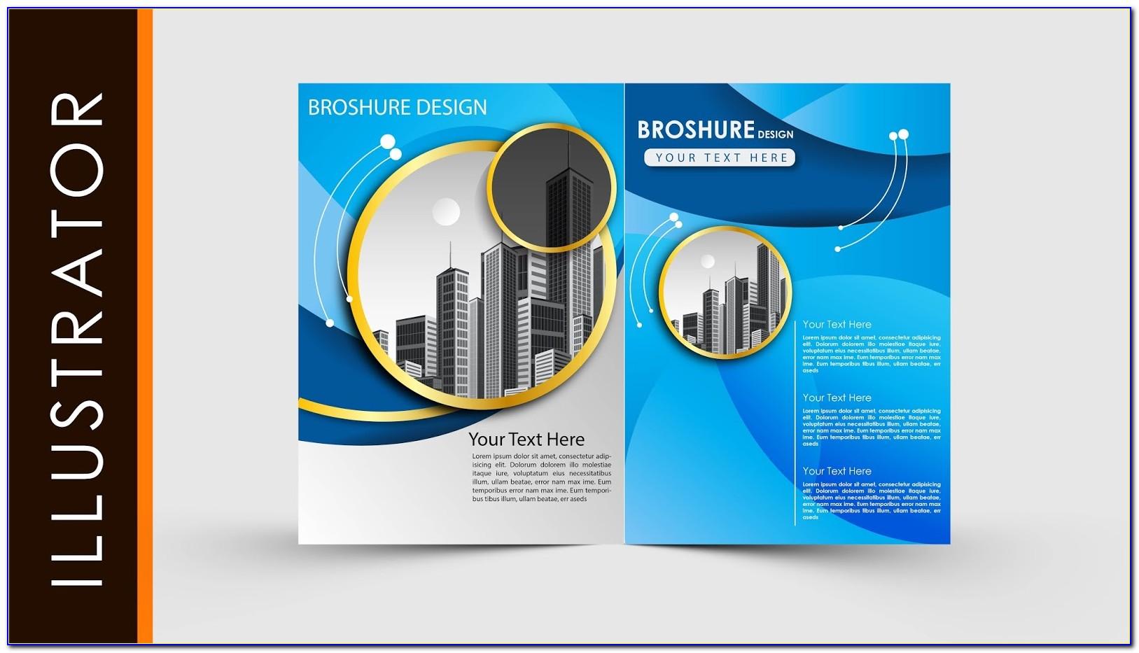 Adobe Illustrator Newsletter Template Free