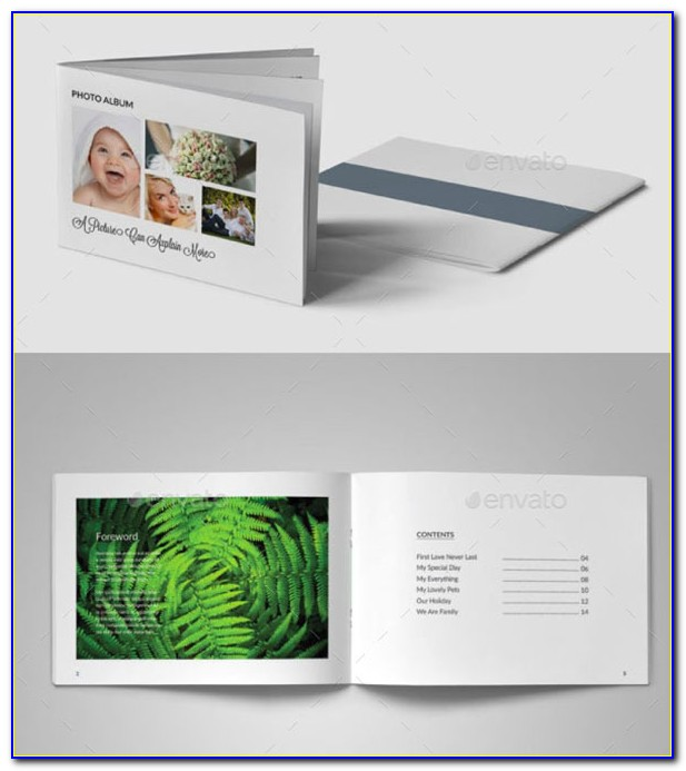 Adobe Indesign Photo Album Template