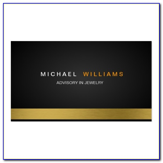 Attorney Business Cards Sample