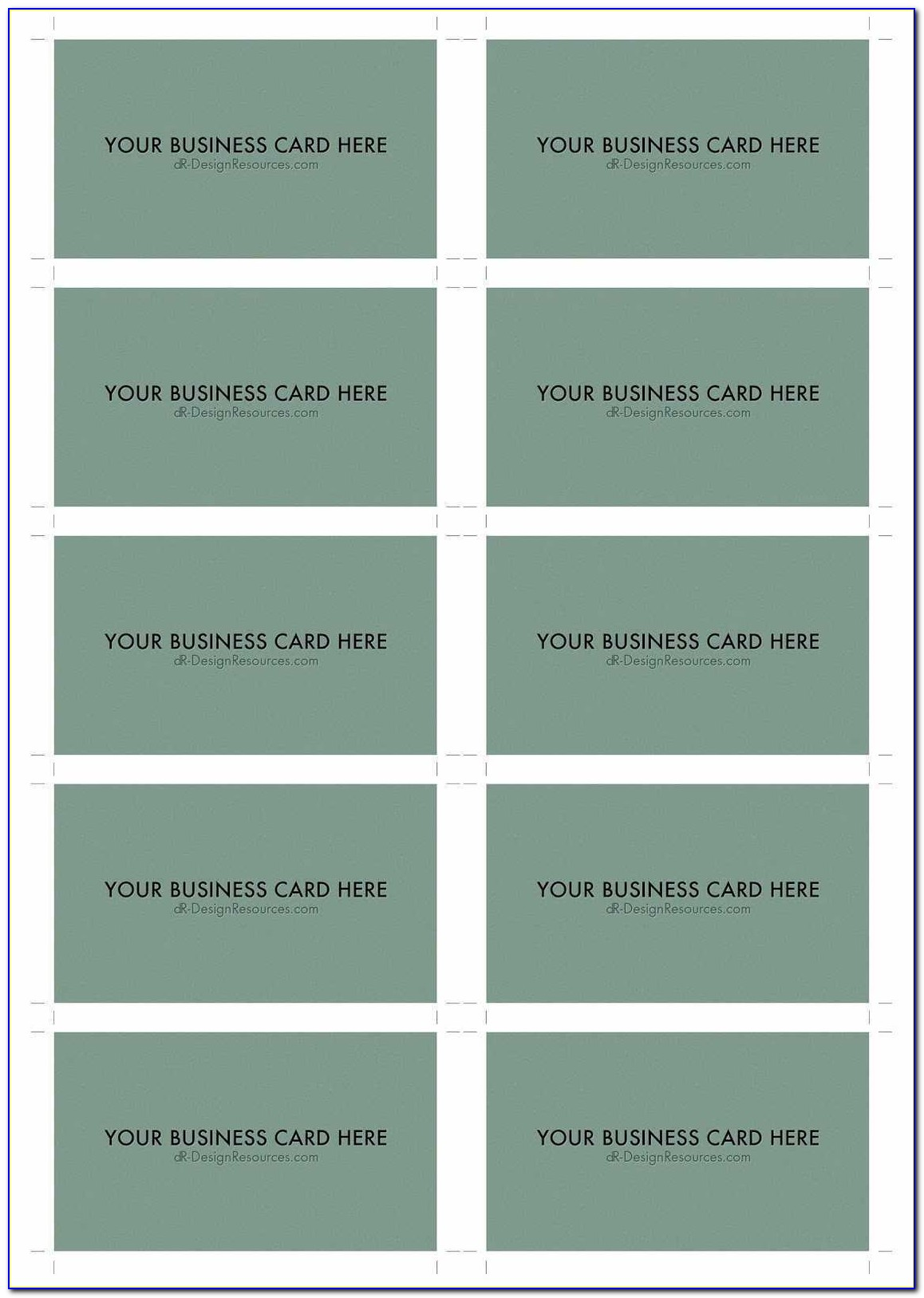 Avery Templates Business Cards 10 Per Sheet Luxury 10 Business Card Template Business Card Design