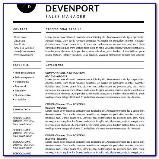 ✩resume Templates For Mac (word) & Apple Pages. Instant Download✩ With Regard To Pages Resume Templates For Mac