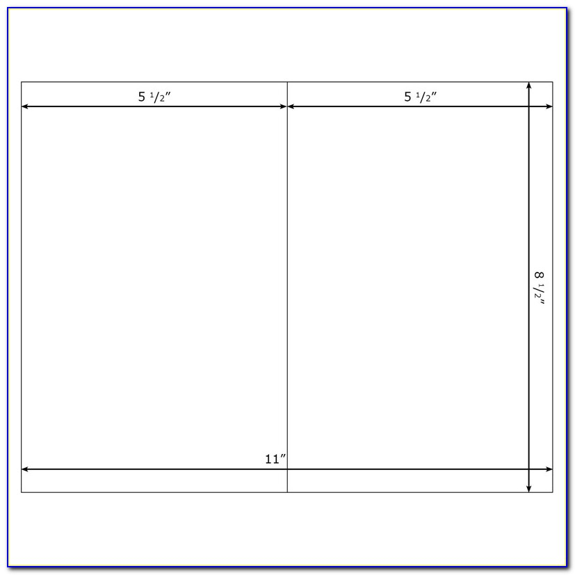 Blank 5x7 Invitation Template