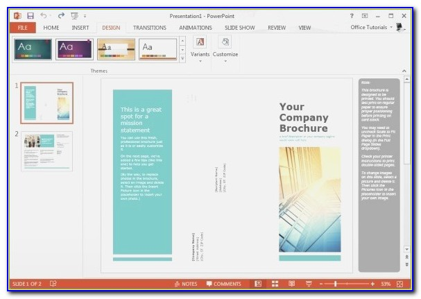 Printable Brochure Maker Free Brochure Templates For Microsoft
