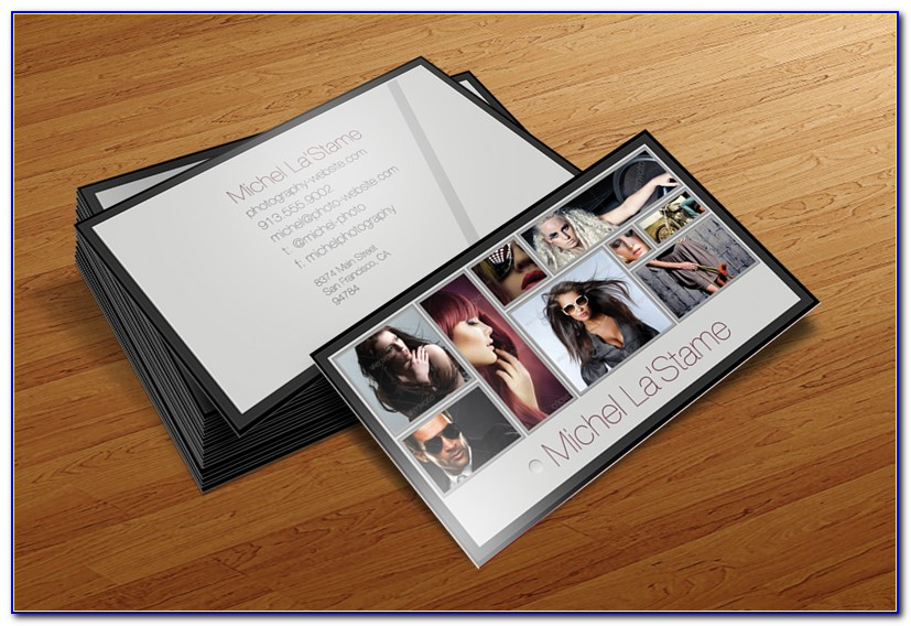 Business Cards For Photographers Templates