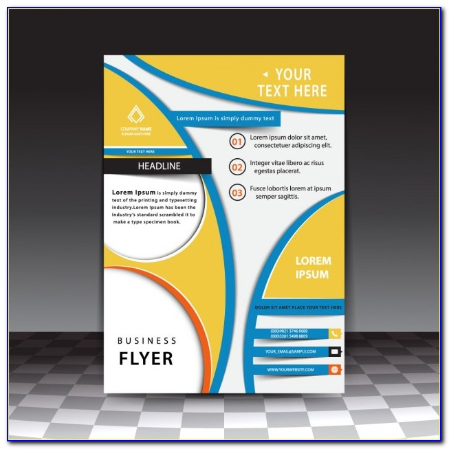 Business Flyer Templates Free Download