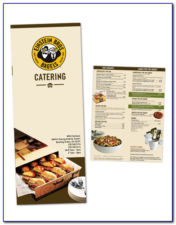 Catering Brochure Templates Free