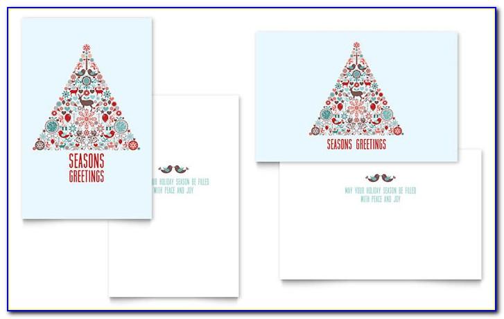Christmas Card Templates Microsoft Publisher