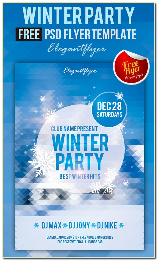 Club Party Flyers Free Templates