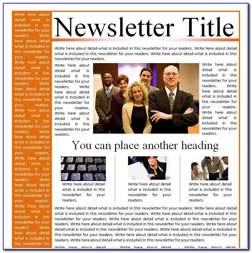 Corporate Email Newsletter Templates