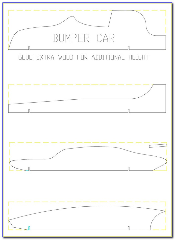 Design Templates For Pinewood Derby Cars