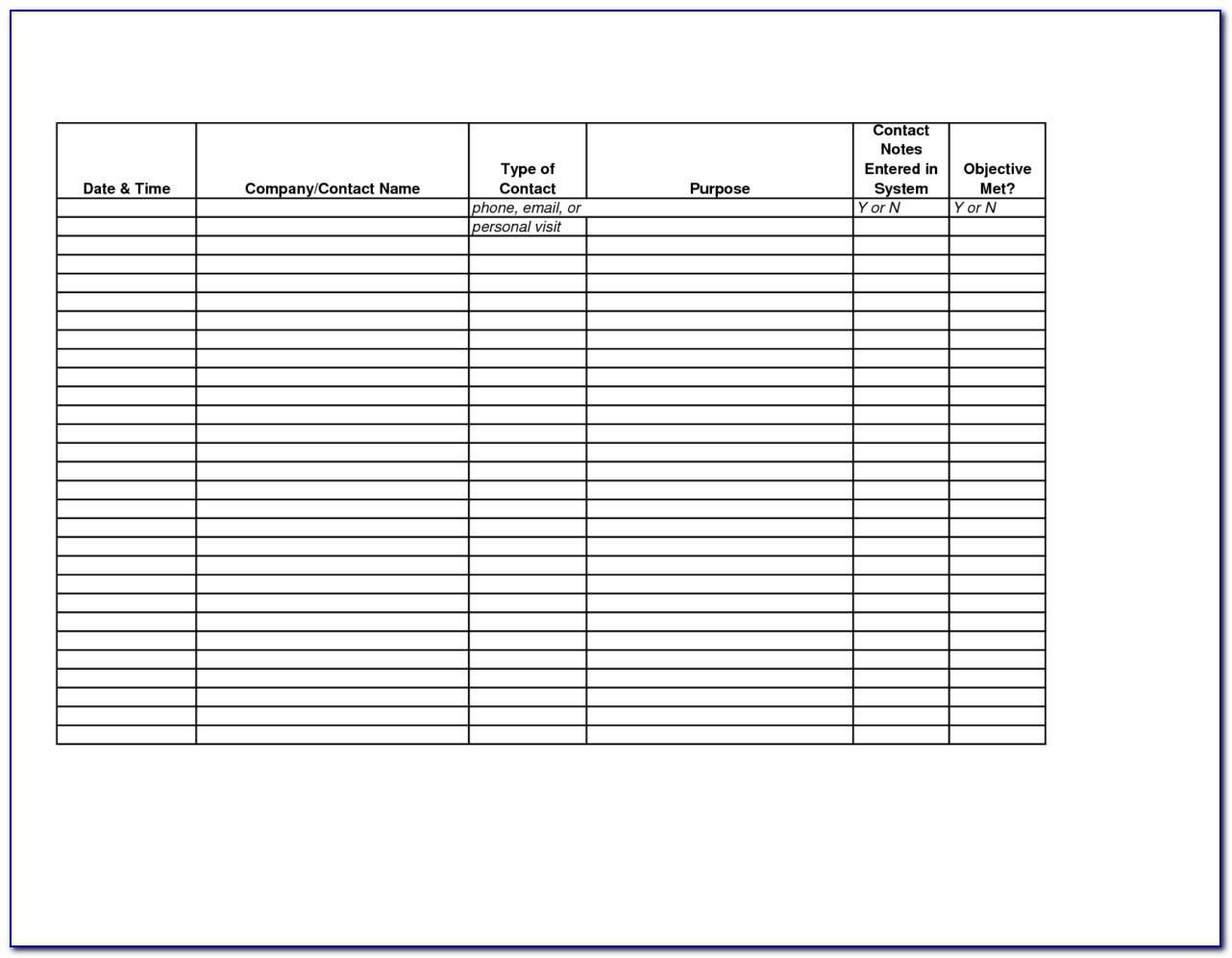 Employee Time Tracking Template