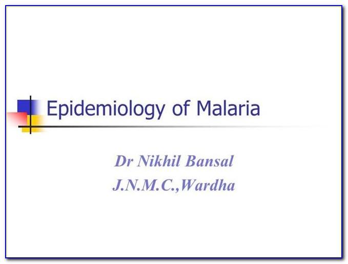 Epidemiology Powerpoint Template