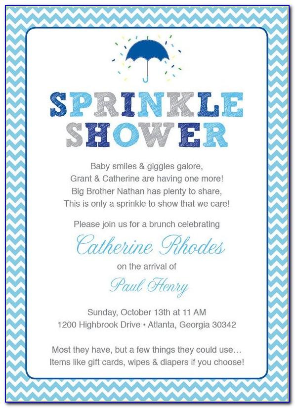Free Baby Sprinkle Invitations Templates Pdf