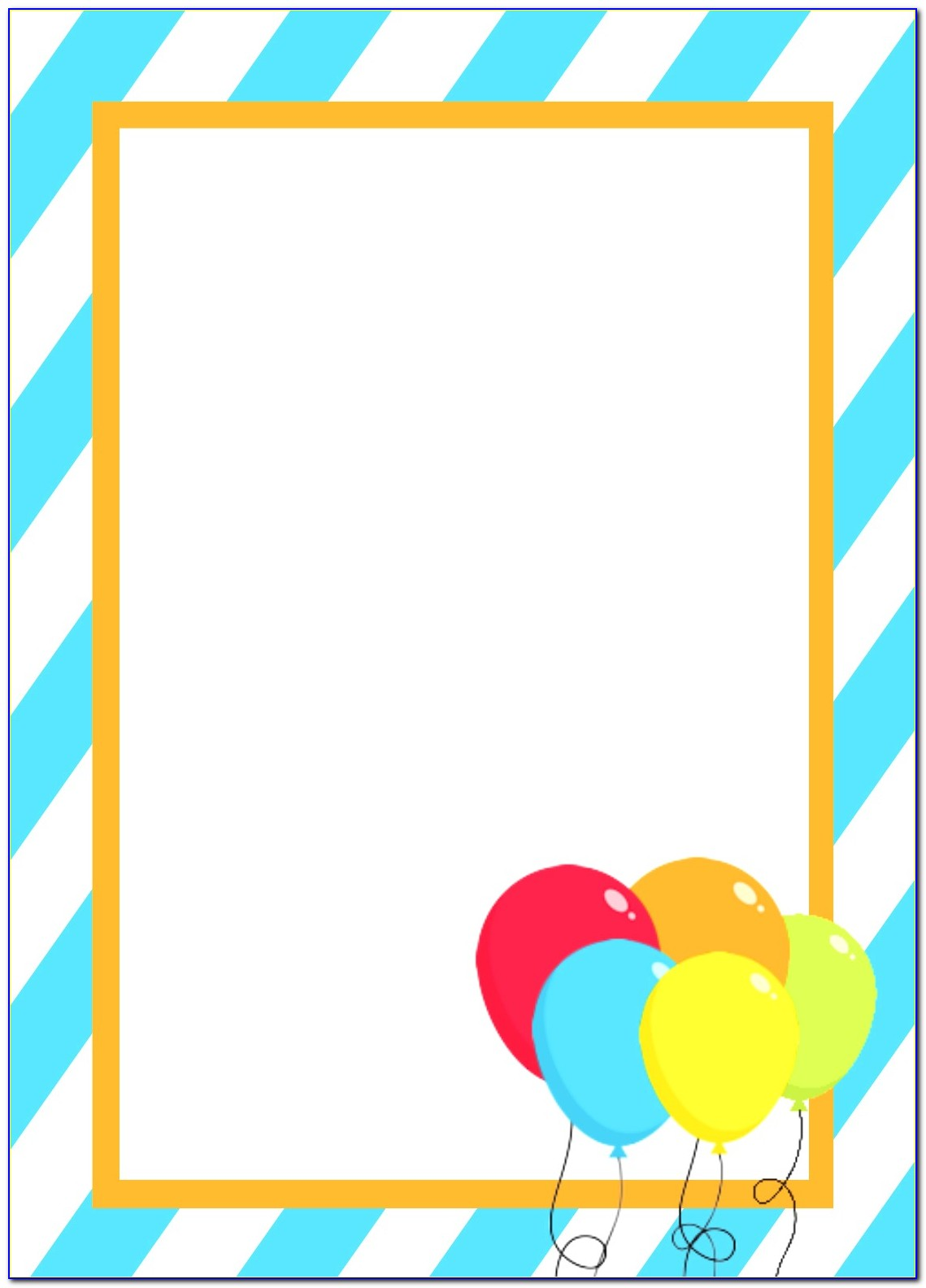 Free Birthday Card Templates To Download