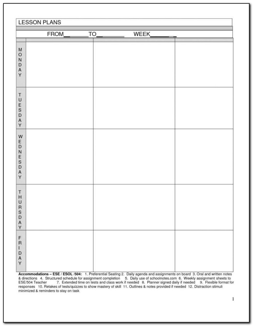 Free Blank Newsletter Templates Word