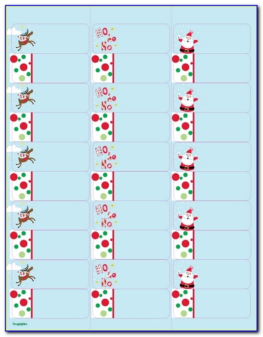 Christmas Address Labels Templates Happy Holidays Free Christmas Mailing Labels Template Free Christmas Mailing Labels Template