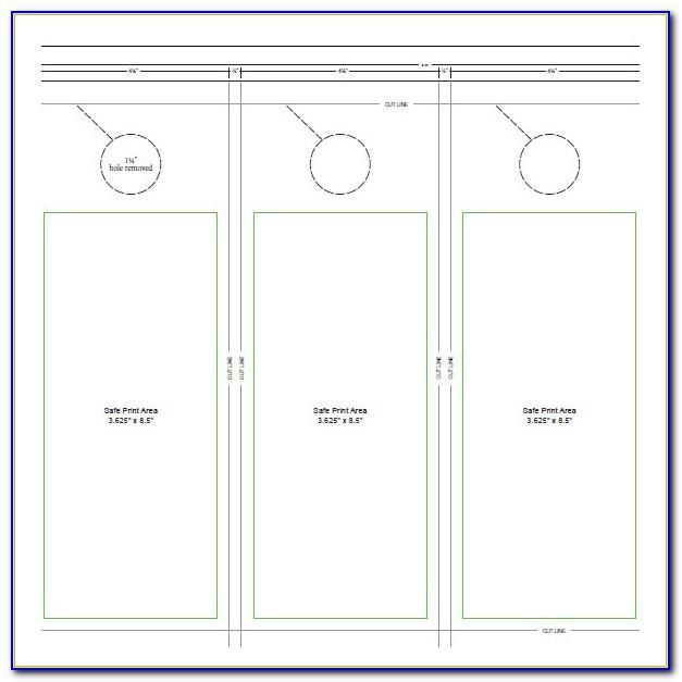 Free Door Hanger Template For Mac