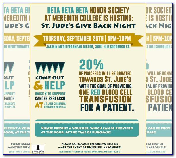 Free Editable Fundraising Flyer Templates