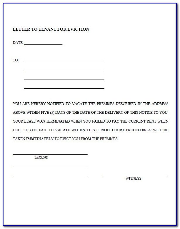 Sample Eviction Notice Template 37 Free Documents In Pdf Word Eviction Letter Template Uk Eviction Letter Template Uk