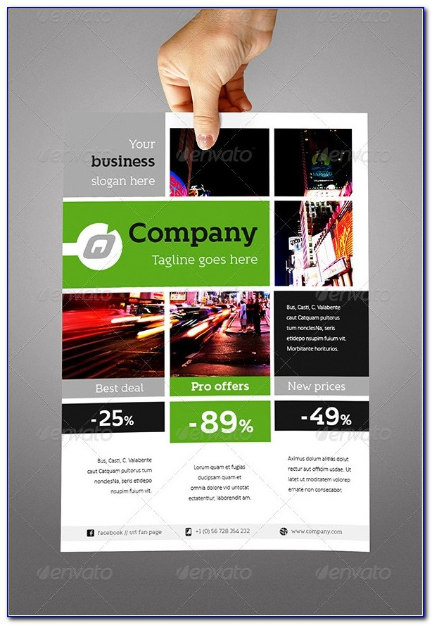 Free Flyer Template Indesign